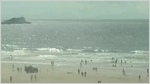 Fistral surf-webcam by Annes Cottage, Newquay, Cornwall