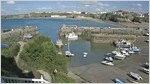 Newquay Harbour webcam in Newquay, Cornwall by the Harbour Hotel.