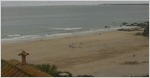 Tolcarne webcam from the Surfers Hotel above Tolcarne beach in Newquay