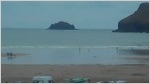 Polzeath webcam by those good people at Magic Seaweed at Polzeath, on the north cornwall coast.
