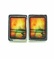 Surf jewellery-Moonflame Cufflinks