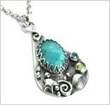 Kaledo-Handmade treasures of the ocean recycled with gemstones & precious metals