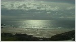 Mawgan Porth surf/webcam by the Bedruthan Steps Hotel, near Newquay, Cornwall. Streaming webcam