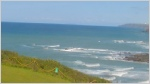 Widemouth Bay webcam by MSW.Outdoor Adventure.  Streaming webcam